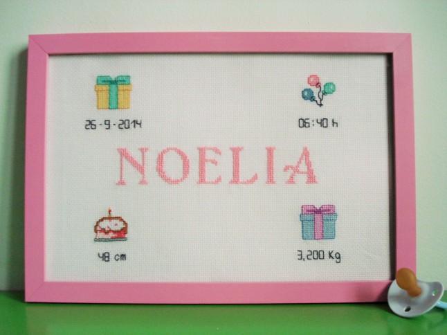 Cuadro de 20 x 30 cm, rosa claro. Precio: 50 €.