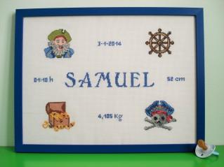 SAMUEL, blanqueado